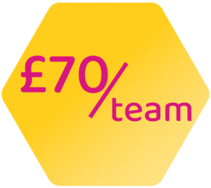 Price = £70/team